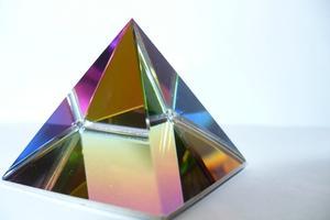 Crystal prismer, der producerer de bedste regnbuer