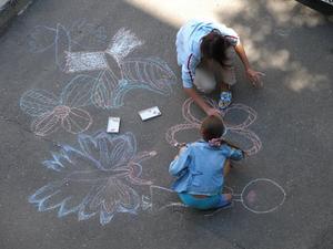 Fjerde klasse Art Aktiviteter