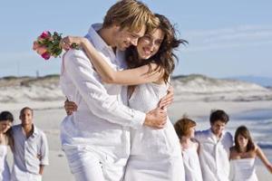 Seaside bryllup temaer