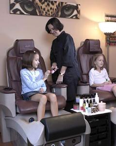 Hvordan laver spabehandlinger for børn