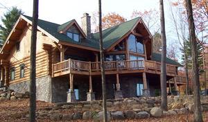Hvordan laver Adirondack stil Hjem byggeplaner