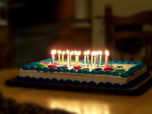 Teenage Girl Birthday Cake Idéer