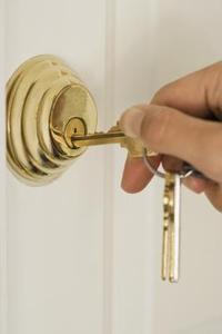 Kwikset enkelt cylinder installation deadbolt lås og fjernelse instruktioner