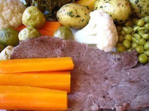 Hvordan man kan tilberede en frossen roastbeef