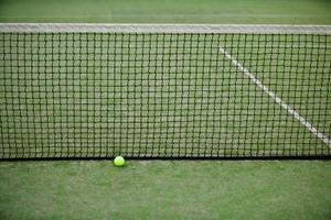 Sådan Kill Moss på en tennisbane