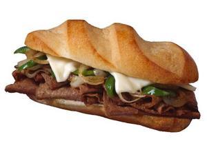 Hvordan laver hurtige Philly cheesesteak sandwich