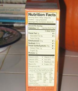 Hvordan laver ernæring fakta etiketter