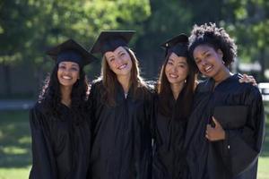 Den etikette for graduering kjoler