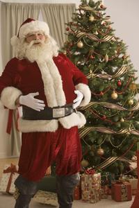 Hvordan man laver et papir plade Santa Claus dekoration