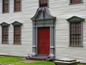 Traditionelle hjem maling farver