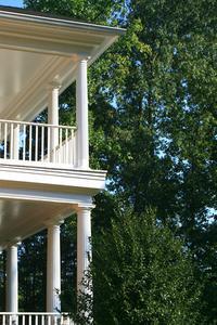 Hvordan til at designe veranda kolonner