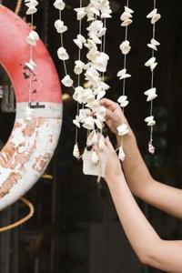 Hvordan laver mobiler fra Seashells