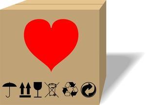 Sådan Lim Emballage til papkasser