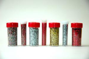 Tips til anvendelse af stof glimmerlim