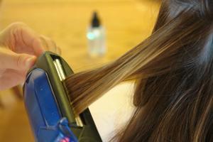 Hvordan at fastsætte beskadigede hår fra glatning