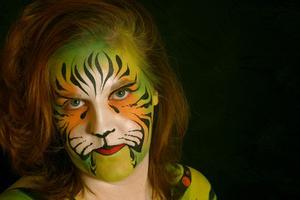 Ideer til Maleri et ansigt ligesom en Tiger for Spirit Week
