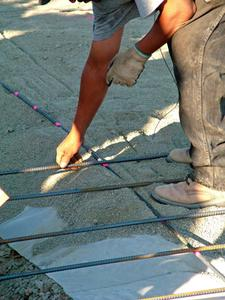 DIY Home Construction: Floor Foundation