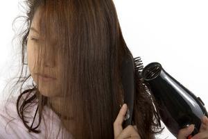 Sådan Blow Dry fint hår