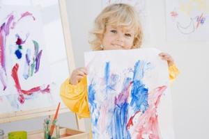 Art Aktivitet for Børnehave på Vejret