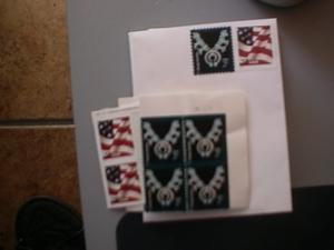 Sådan bruger gamle førsteklasses frimærker