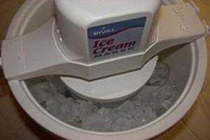 Rival Electric Ice Cream Maker Instruktioner
