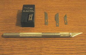 Sådan bruges en Exacto Knife