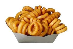Hvordan man tegner Curly Fries