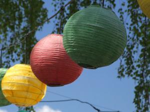 Sådan at planlægge et bryllup med papir lanterner