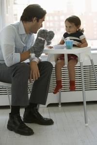 Ideer til Pig & Wolf Sock Puppets