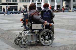Sådan måler en kørestol rampe