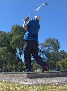 Sådan aktiveres mine hænder over på en golf swing