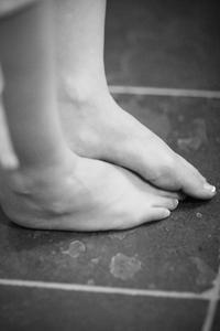 Vitaminer Hjælp tørre fødder?