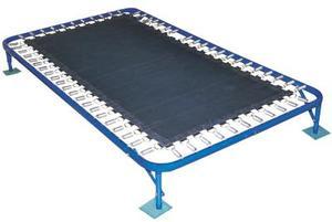 Sådan installeres en trampolin Net