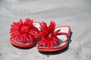 Ideer om Udsmykning Flip Flops