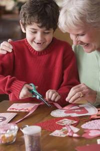 Sundt hjerte kunst & håndværk aktiviteter for børn