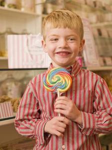 Hvordan til at dekorere en drengs Candy Bouquet
