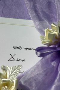 Den Etikette for Adressering Bryllupsinvitationer