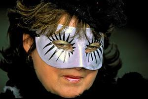 Hjemmelavet Party Masker