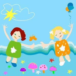 Opslagstavle aktiviteter for børnehave