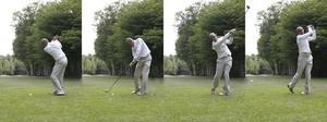 Sådan helbredelse en golf skaft