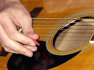 Udskrivning på guitar Picks