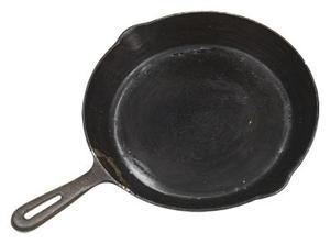 Sådan Clean en Rusty, Sticky Cast Iron Pan