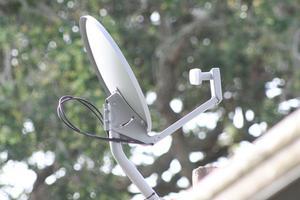 Hvordan indstiller jeg Up & Sigt Min parabol nettet satellit?