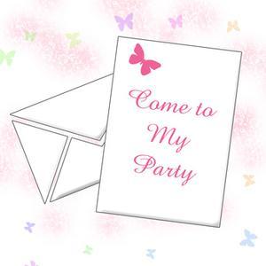 Første fødselsdagsfest invitation formulering ideer