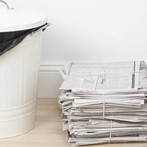 Hvordan finder en manglende papirkurven