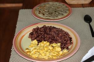Traditionelle salvadoranske Dishes