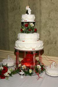 Hvordan man laver en demo Wedding Cake