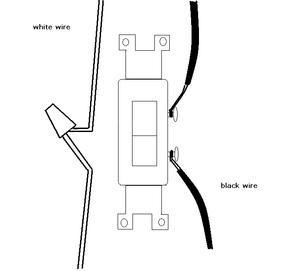 Hvordan til wire en lyskontakt og en væg stik