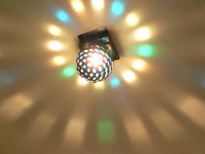 Sådan redigeres et billede med Disco Lights