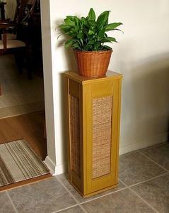 Hvordan Genbrug Skodder til en plante Stand